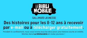 La Biblimobile de Gallimard vous envoie des histoires gratuitement!