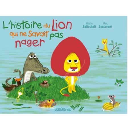 L'histoire du lion qui ne savait pas nager