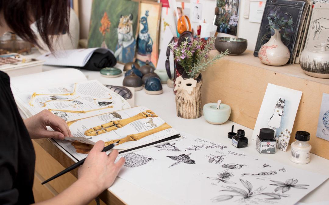 Entretien avec Izumi Mattéi-Cazalis, auteure-illustratrice du livre Quand le kiwi perdit ses ailes