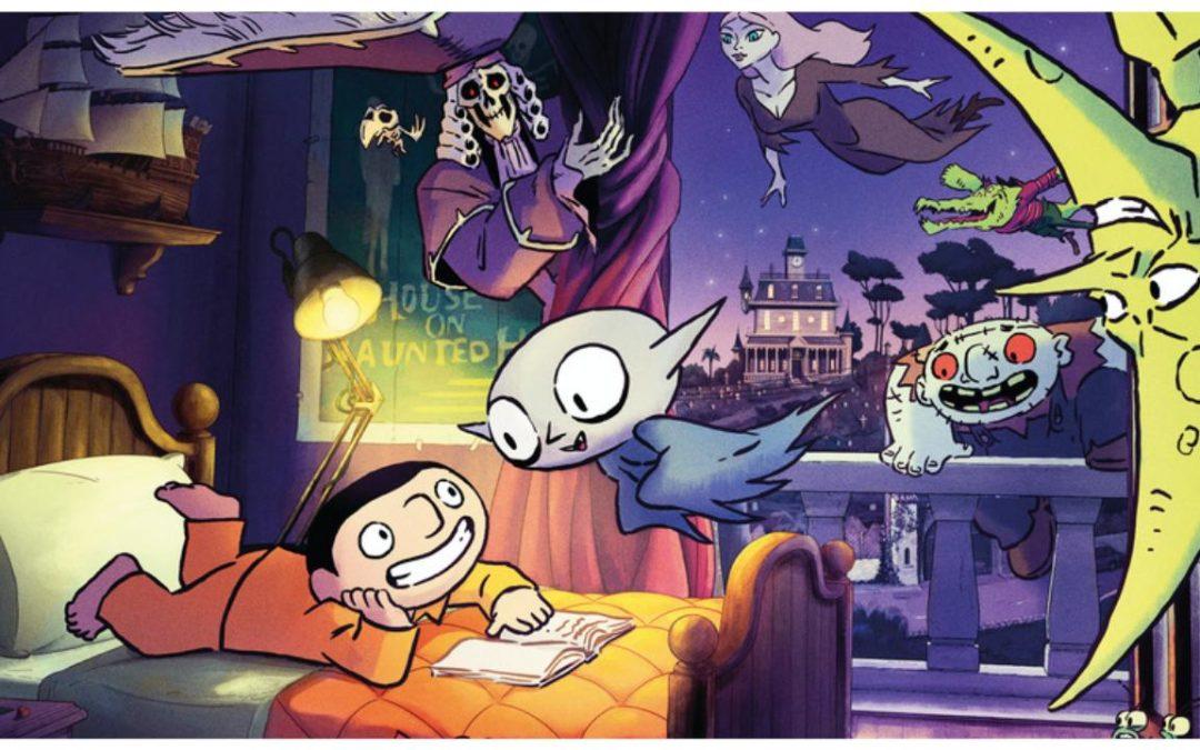 Petit Vampire : de la BD au film d'animation