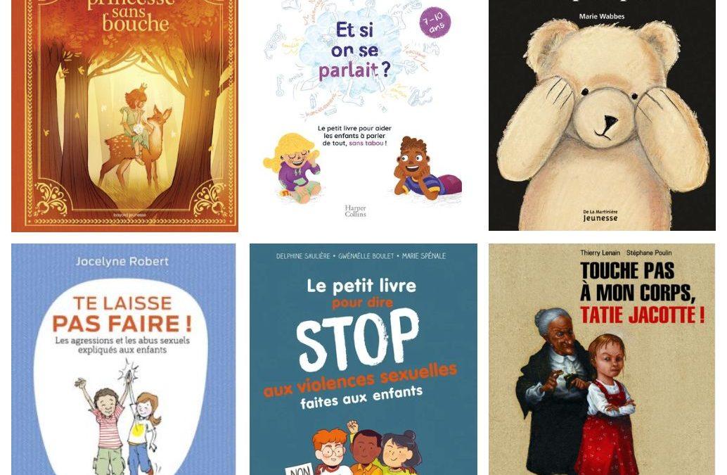 Six livres jeunesse pour parler du corps, du consentement et des violences sexuelles avec votre enfant