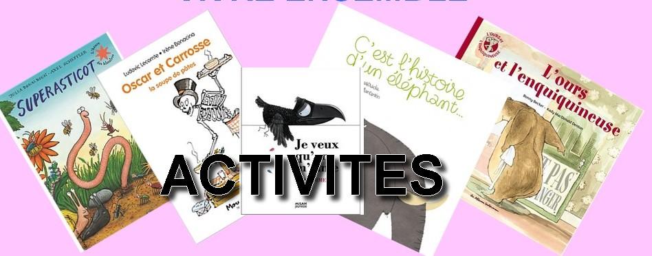 Cité éducative – Le Havre – Activités autour des albums – Niveau 1